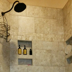 Bathroom Remodel in O'Fallon IL by Maxson Services Inc